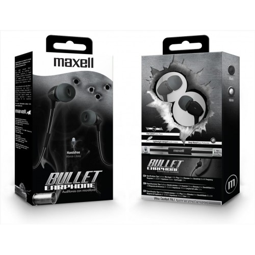 Maxell Bul-90 Bullet Earphone