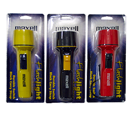 flashlight torch maxell