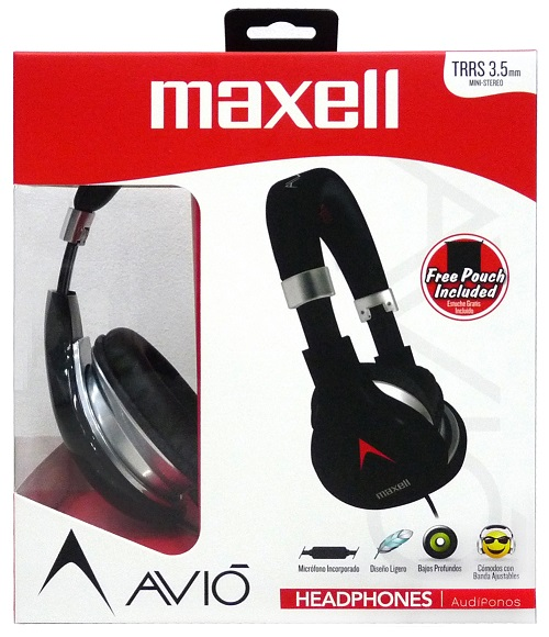 maxell avio headphone