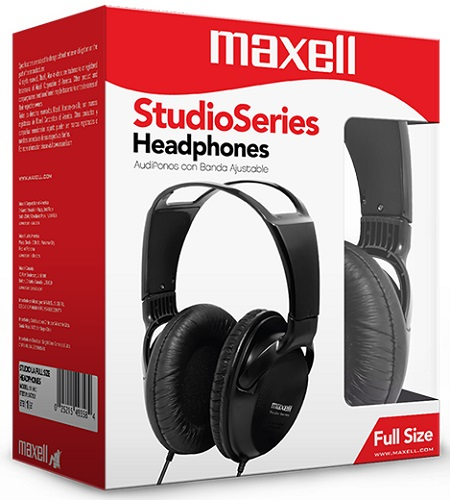 maxell studio headphone