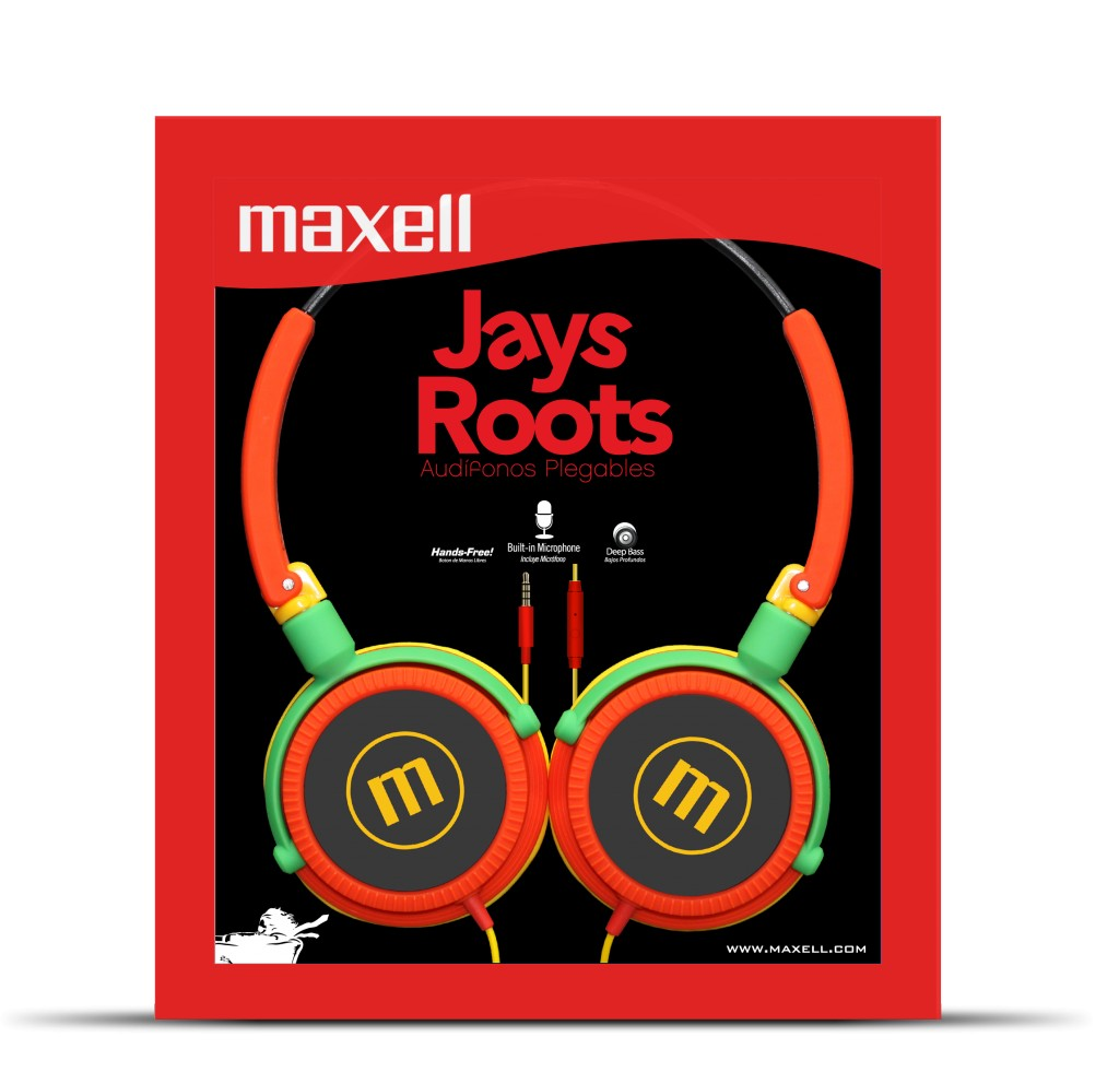 maxell Jays Roost headphone
