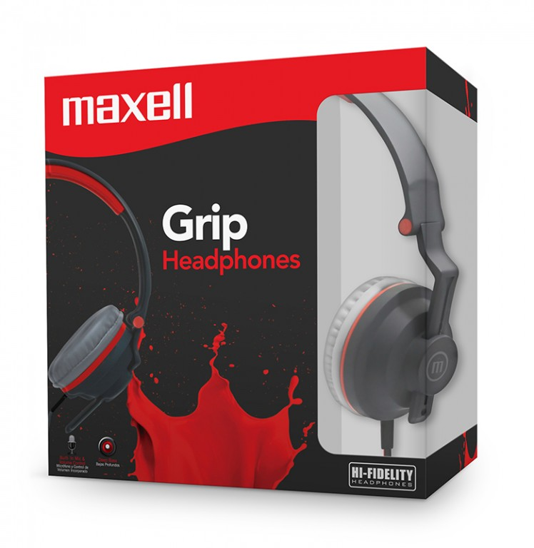 maxell Grip Headphone K-100