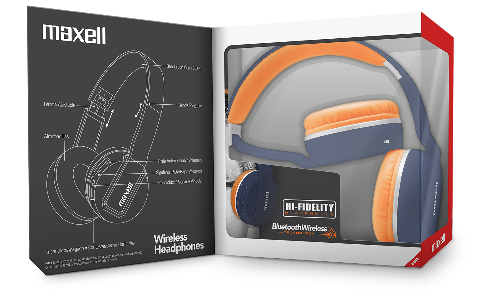 maxell Wireless Headphone