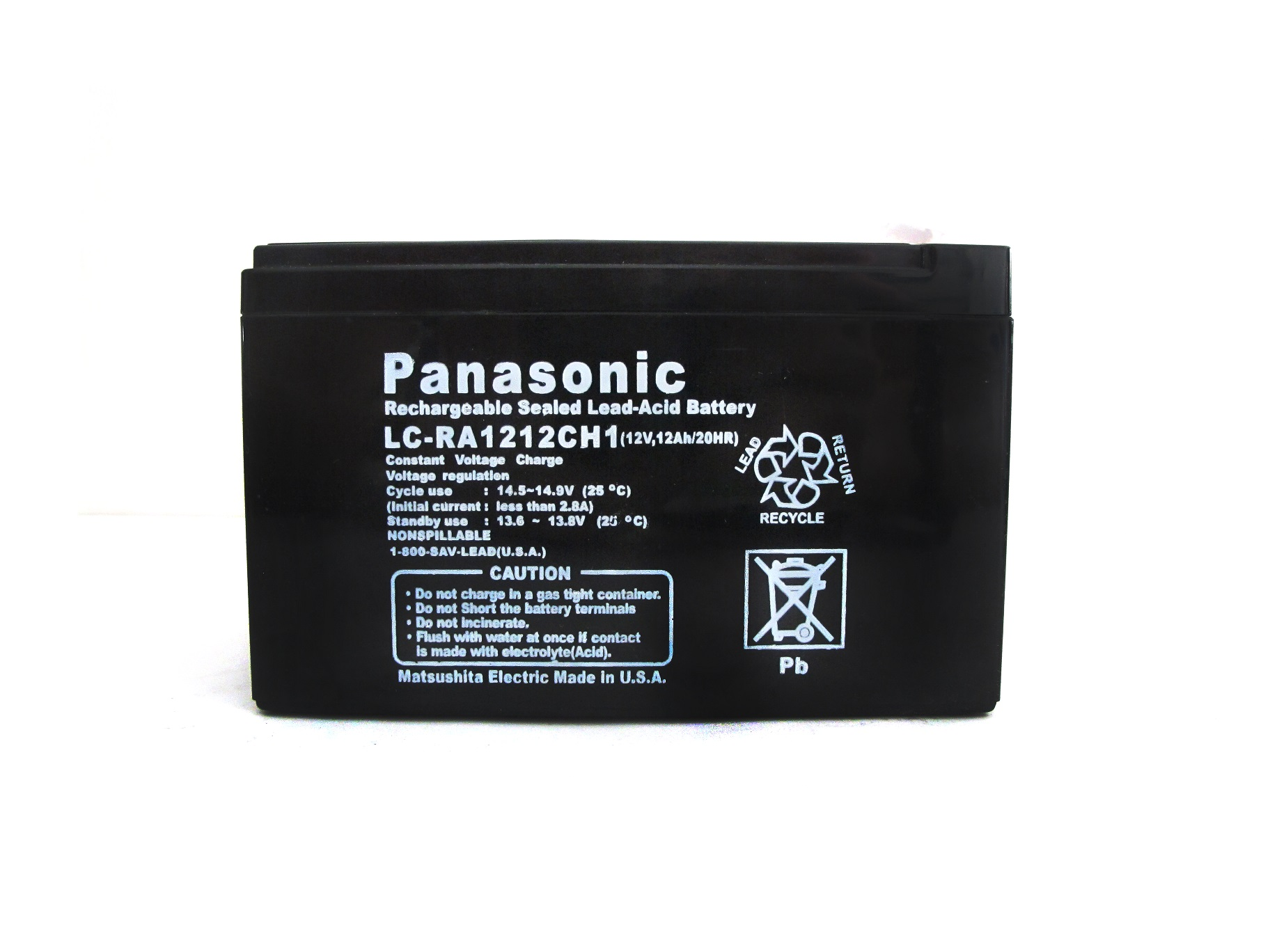 Panasonic Sealed Lead Acid Battery Ups Cr123a Cr2 Wiring Devices Philippines Pnsc 12v 12ah